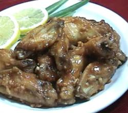 Honey Lemon Chicken Wings
